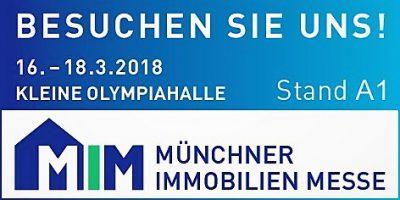 gtw stellt auf der Münchner Immobilienmesse 2018 aus