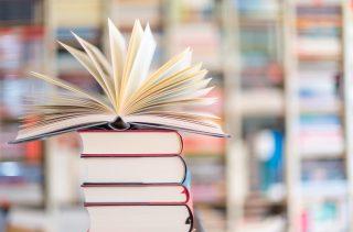 Lernliteratur in Bibliothek
